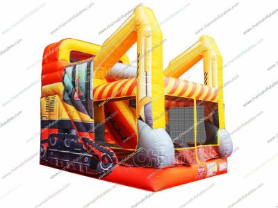 excavator inflatable combo for sale