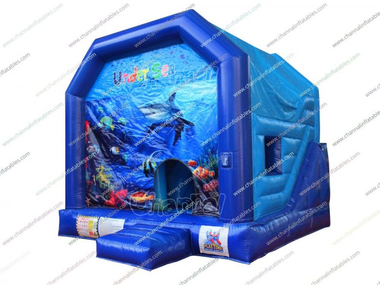 under the sea inflatable combo