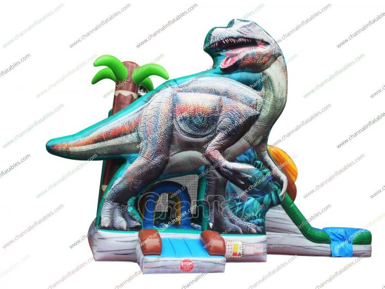 t-rex inflatable combo