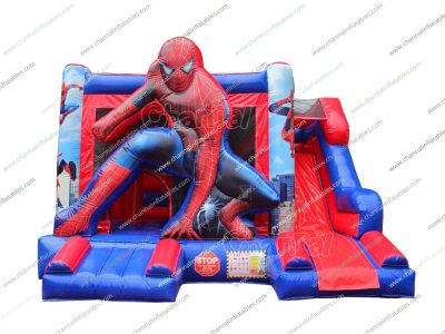 spiderman inflatable combo