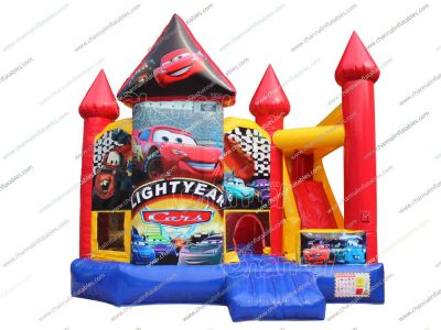 cars inflatable combo