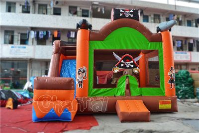 pirate ship inflatable combo