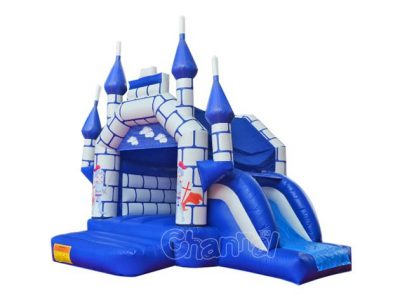 knight inflatable castle combo