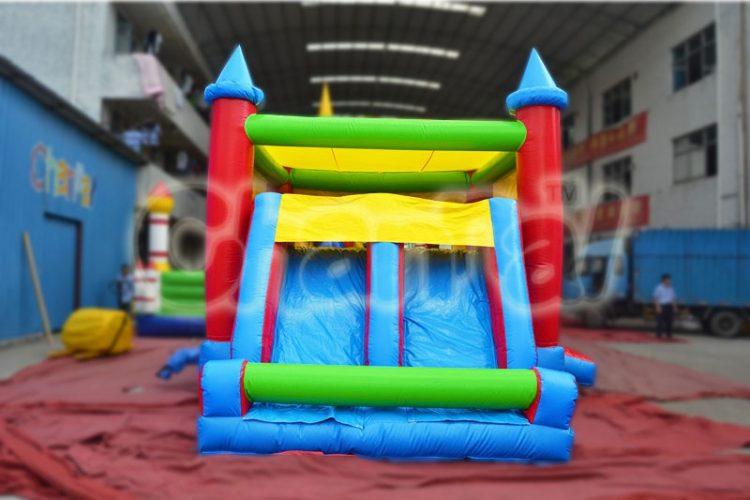 bouncy combo with double slide