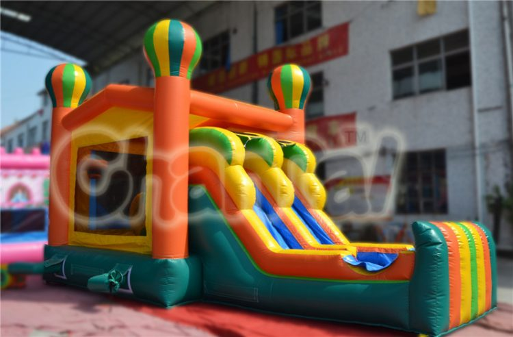 balloon castle inflatable combo