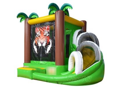 small forest tiger inflatable combo