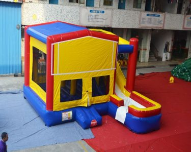 7 in 1 module inflatable bouncer combo