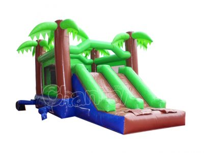 jungle tree inflatable combo