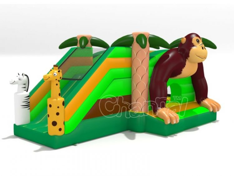 monkey inflatable combo for sale