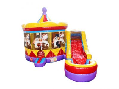 carousel water bounce house for sale
