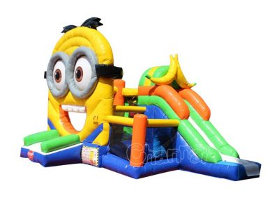 minion banana inflatable combo for sale