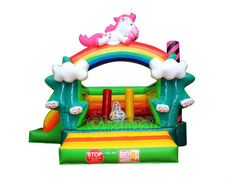buy cheap unicorn pony moon bounce