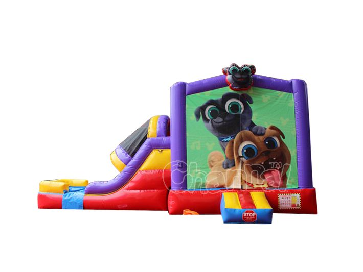 cute dogs water bounce house for sale