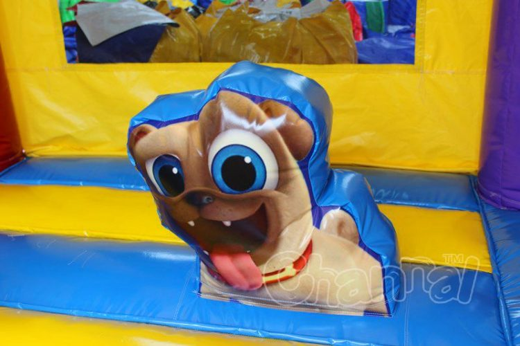inflatable pug pop up