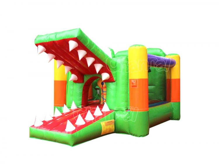crocodile inflatable combo for little kids