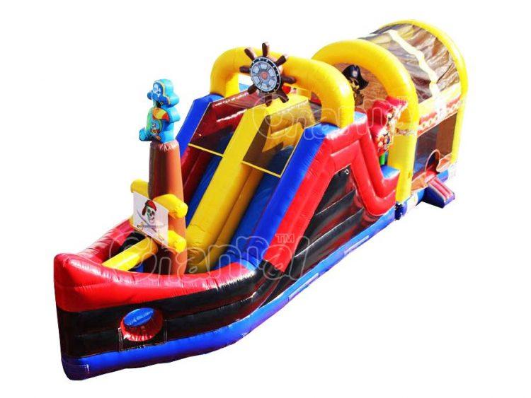pirate ship bouncer slide combo