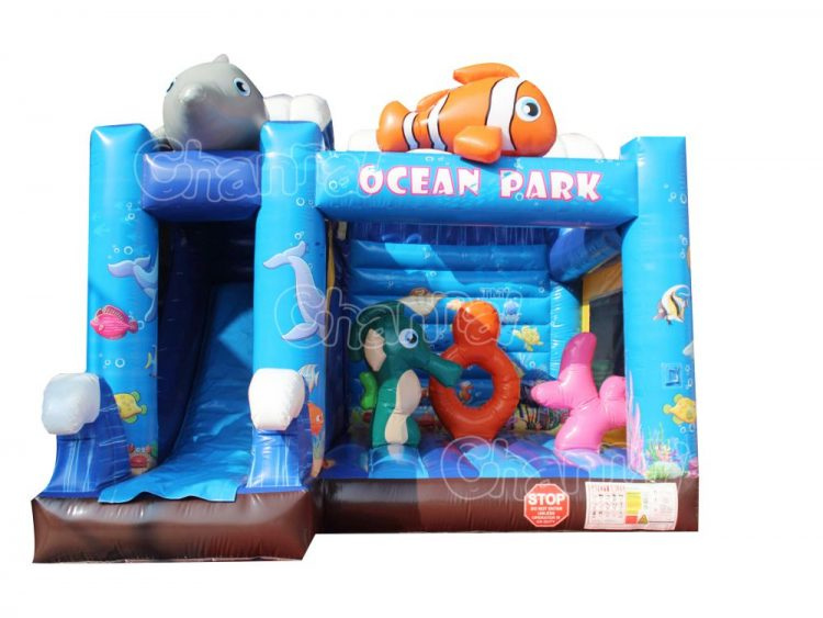 ocean park inflatable combo