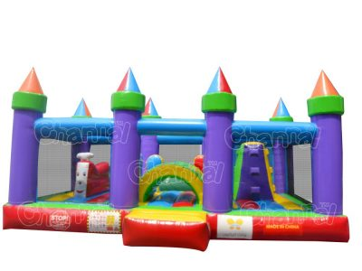 crayon playland inflatable bounce house for kids