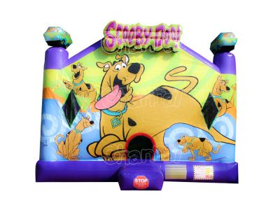 Scooby Doo inflatable combo
