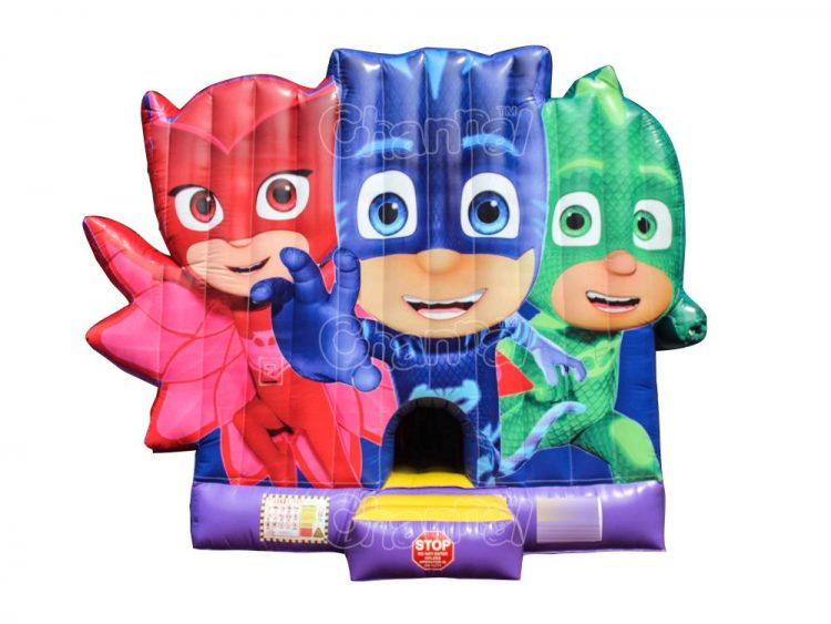 pj masks inflatable combo