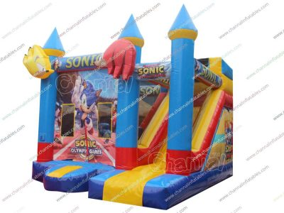 Sonic Olympic Games inflatable combo