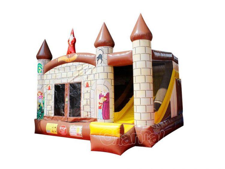 wizard castle bounce house combo