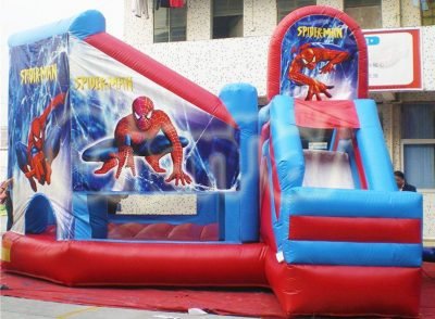 spider-man inflatable combo