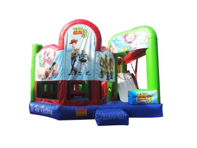 toy story 5 in 1 bounce house combo