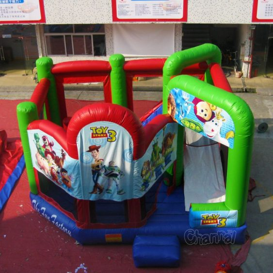 toy story 3 bounce house combo