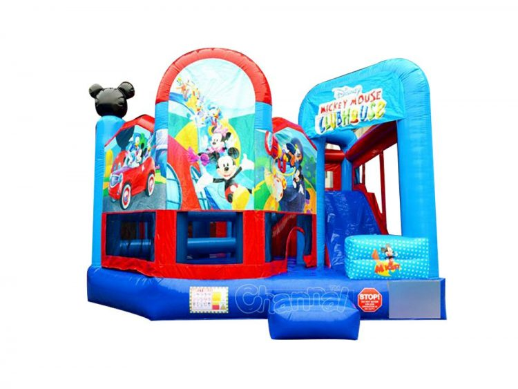 mickey mouse 5 in 1 bounce house for sale