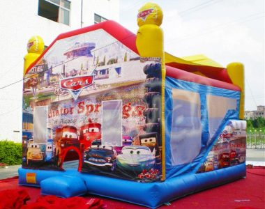 cars animation inflatable combo