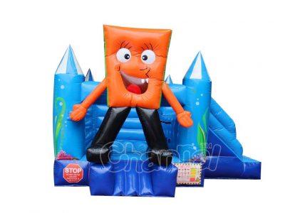 spongebob mini bouncer inflatable combo