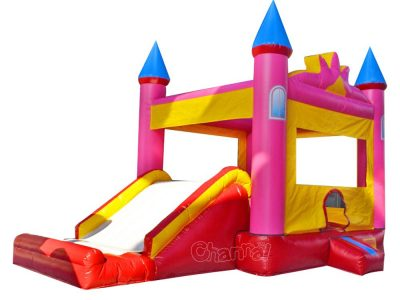 inflatable castle combo for girls