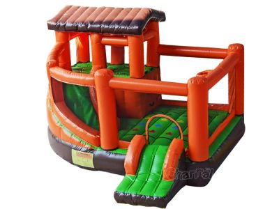 duplex house inflatable combo