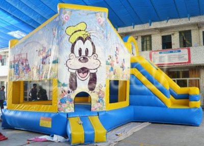 goofy dog inflatable combo