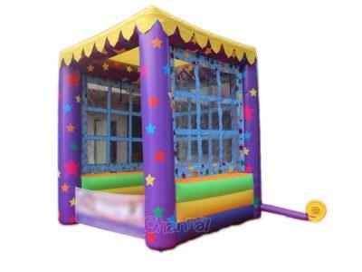 kids inflatable kiosk tent