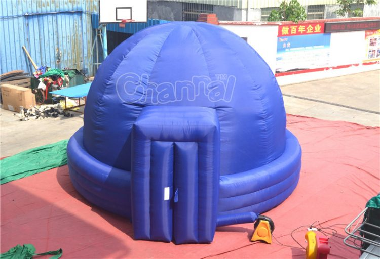portable inflatable planetarium dome for school