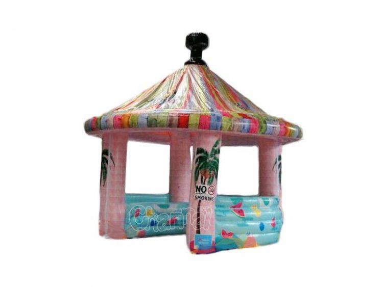 cheap inflatable beach kiosk tent
