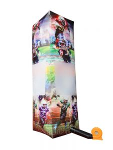 tall inflatable football pillar for sale