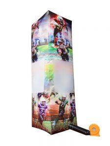 tall inflatable football pillar for sale