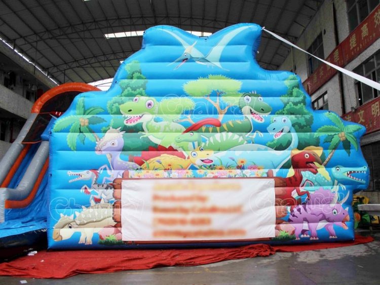 dinosaur inflatable signage
