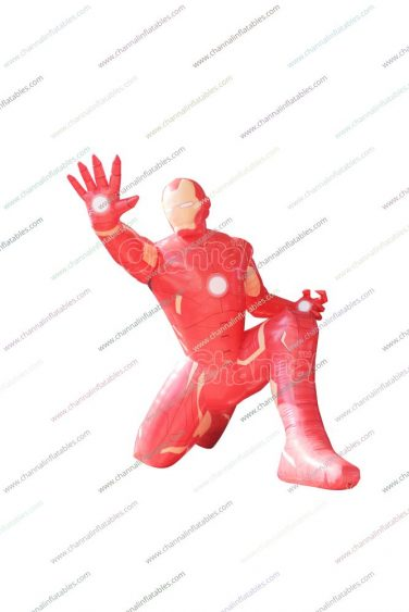giant inflatable iron man