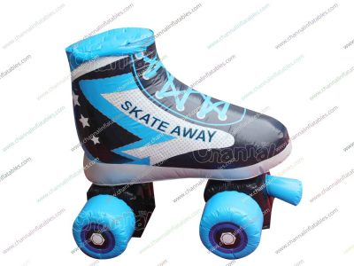 giant inflatable roller skate shoe