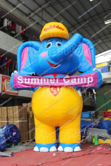 inflatable elephant for summer camp