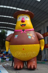 giant inflatable animal scout