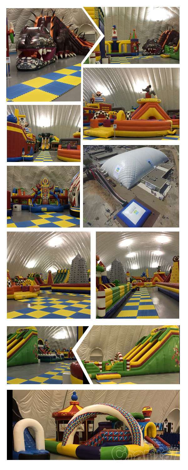 big event in Turkey(many inflatables were used)