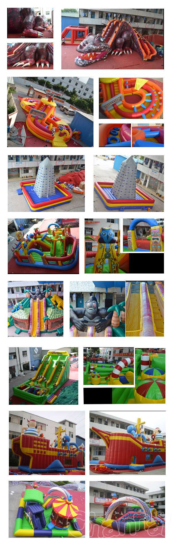 inflatables sold to Turkey
