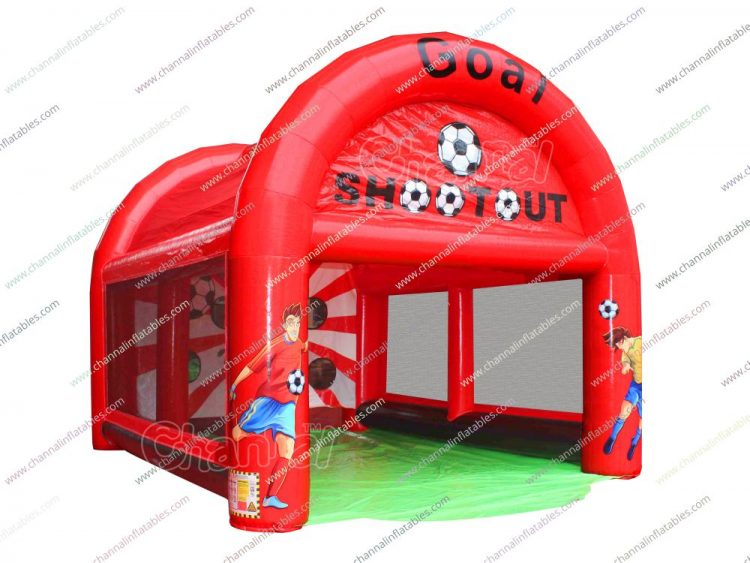 soccer/football inflatable shoot out game