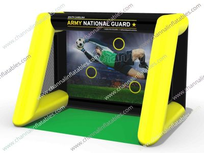 army national guard inflatable soccer game