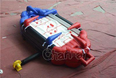 inflatable air football / air hockey game